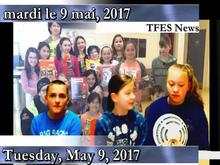 TFES News with Bobby, Charlie and Alicia