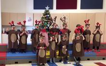 Merry Christmas from Mrs.Smith's Kindergarten!